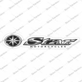 Star Motorcycles Sticker 00368