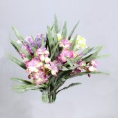 Yapay Pudralı Lavanta Çiçeği Demeti 30 Cm 3 Renk