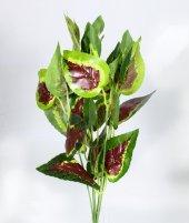 Yapay Yeşillik Çiçek Dallı Yaprak Demeti 30 Cm 3 Renk