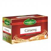Mindivan Ginseng Çayı 20li Süzen Poşet Çay