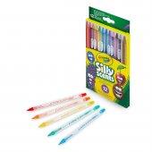 68 7404 Crayola Sılly Scents Çevrilebilen Kuru Boya Kalemi 12li