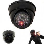 Led Işıklı Güvenlik Kamerası Gece Görüşlü Sahte...