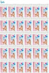 Ipek Bebek Temizleme Pamuğu 1800 Adet (30pk*60) 1 Koli