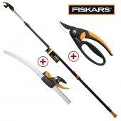 Fiskars 115018 Powergear Yüksek Dal Budama Seti Upx86 + Fingerloop
