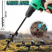 Bahçe Ekim Dikim İçin Matkap Burgusu 60x6.5 Cm