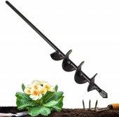 Bahçe Ekim-Dikim için Matkap Burgusu 60x6.5 cm-2
