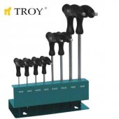 Troy 22308 Allen Anahtar Seti (T Saplı)