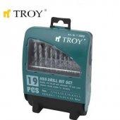 Troy 35000 Hss Matkap Uç Seti 19 Parça