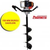 Palmera Zlag520b 15 Toprak Burgu Makinası 15 Cm