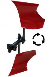 çapa Makinası Dönerli Pulluk Aparatı Düz Bağlantılı