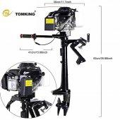Tomking TK144FC Dıştan Takma Bot Motoru 4 Zamanlı-6