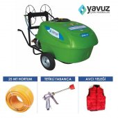 Yavuz Benzinli İlaçlama Makinası 200 Lt