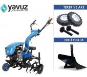 Yavuz Y200 Benzinli Motorlu Çapa Makinası 6.5...
