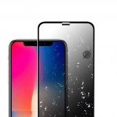 Apple İphone 11 Olix Anti Dust Privacy Gizlilik Filtreli Hayalet Ekran Koruyucu Cam Siyah