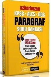 2020 Kpss Ales Dgs Ezberbozan Paragraf Soru Bankası Pegem Yayınları