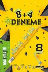 8. Sınıf Matematik 8 + 4 Elmas Serisi Deneme Startfen Yayınları