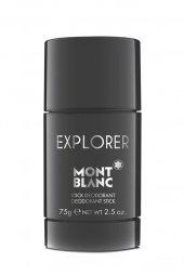 Mont Blanc Deodorant - Explorer Deo Stick 75 GR
