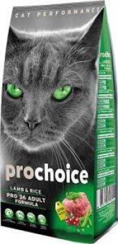 Prochoice Cat Pro 36 Lamb Kuzulu Pirinçli Kedi...
