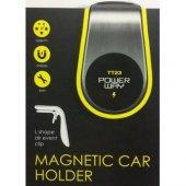 Powerway Tt23 Mıknatıslı Araç İçi Telefon...