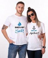 Tshirthane My Sail My Anchor Sevgili Kombinleri...