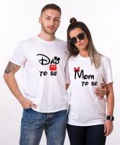 Tshirthane Dad Mom To Be Sevgili Kombinleri...