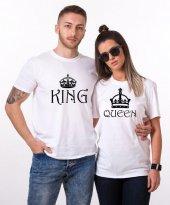 Tshirthane King Queen Sevgili Kombinleri Tshirt...