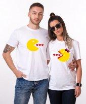 Tshirthane Pacman Kalp Sevgili Kombinleri...