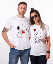 Tshirthane Snoopy Love Sevgili Kombinleri...