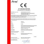 AVONNI AV-4100-A6-BBY Beyaz Boyalı Sarkıt, E27, Metal, Ahşap, 32cm-5