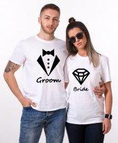 Tshirthane Groom Bride Sevgili Kombinleri...
