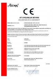 AVONNI AV-1362-1KV Venge Boyalı Sarkıt, E27, Ahşap, Pleksi, 45cm-11