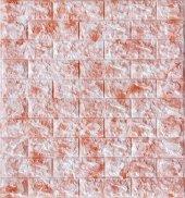 Nw14 Kırmızı Benekli Tuğla Kendinden Yapışkanlı Tuğla Esnek Duvar Paneli