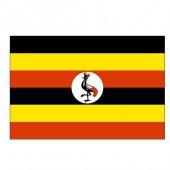 Uganda Gönder Bayrağı 50x75
