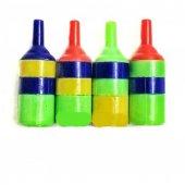 Akvaryum Hava Taşı 4 Lü Plastik Renkli