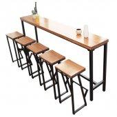 Köknar Beş Kişilik Bar Masası