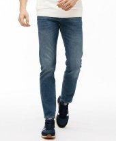 Lacoste Erkek Slim Fit Denim Lacivert Pantolon Hh7510 0l4 192