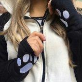 Panda Sweat Fermuarlı