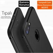 Apple İphone 11 Pro Max Kamera Korumalı İnce Mat Silikon Kılıf