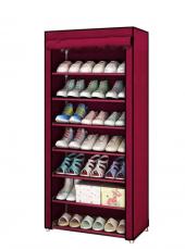 Liomi Home Kırmızı Ayakkabılık Bez Dolap 7...