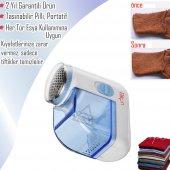 şarjlı Pratik Yün Temizleme Elbise Örtü Tüm Eşyalarda Tiftik Temizleme Makinesi