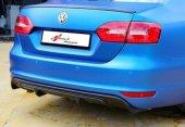 Volkswagen Jetta Makyajsız Arka Difüzör Plastik...