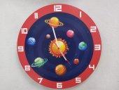 Uzay Temalı Duvar Saati