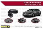 Opel Astra J Araca Özel Kol Dayama Siyah 2010...
