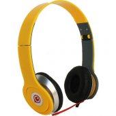 Glr Mikrofonlu Kulaklık Sarı