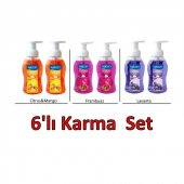 Saloon 6lı Karma Set (Saloon Köpük Sabun...