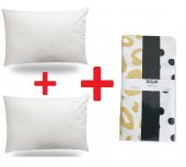Zeynep Tekstil 2 Adet Silikon Yastık + 2 Adet...