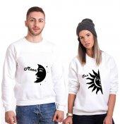 Tshirthane Ay Güneş Sevgili Kombinleri tshirt kombini Sevgili Sweatshirt Uzunkollu