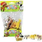 Plastik Neşeli Çiftlik Hayvanları 9 Cm Oyuncak