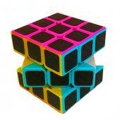 Fosforlu Siyah Zeminli Rubiks Zeka Küpü Sabır...