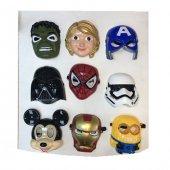 2li Set Işıklı Kahraman Maskeleri Yılbaşı...
